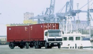 Nhà xe vận chuyển container